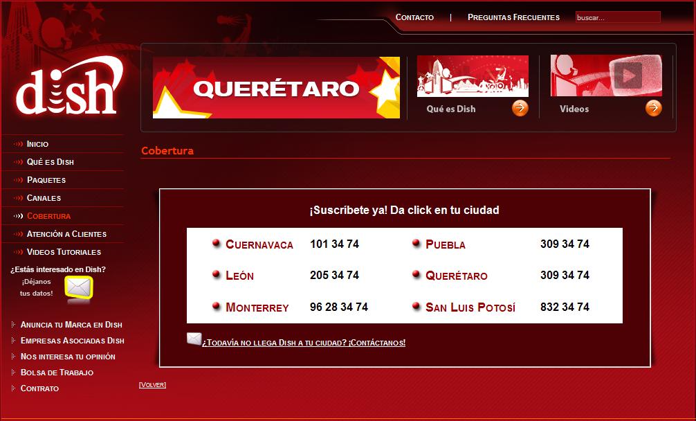 La Llegada De Dish Llega A Monterrey Y Cuernavaca 171 La
