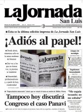 La Jornada San Luis_ultima portada