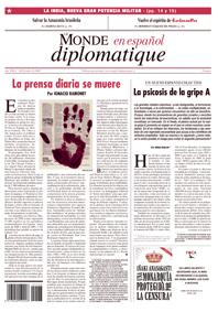 Portada de Le Monde Diplomatique