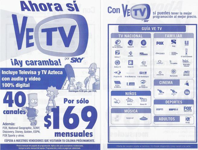 Dish Vs Sky Ahora Lanzan Ve Tv 171 La Rueda De La Fortuna
