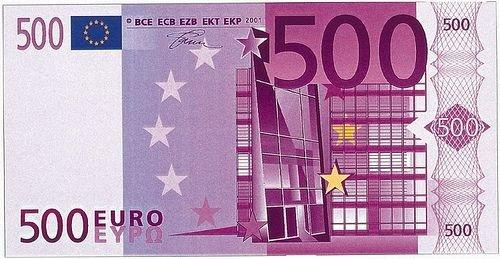 Euros 500